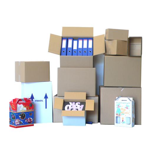 Material embalaje de cartón